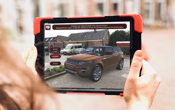 Augmented Reality opdracht op de iPad